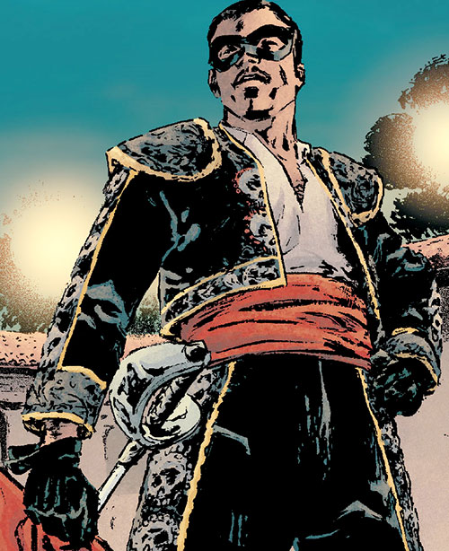 Matador II (Daredevil enemy) (Marvel Comics) in costume
