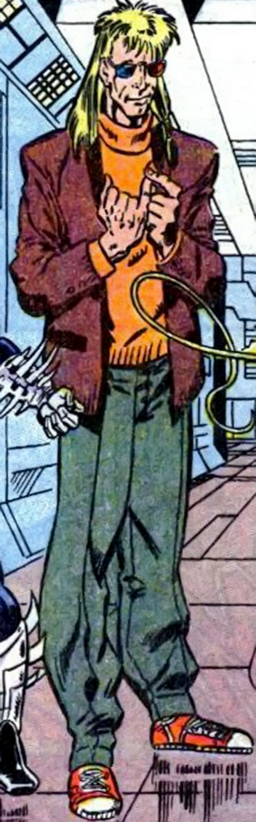 Mathemanic of Psionex (New Warriors enemy) (Marvel Comics)