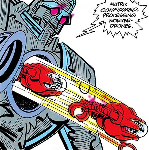 Matrix-Prime (Supergirl enemy) (DC Comics) releases worker drones