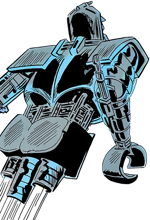 Matrix-Prime (Supergirl enemy) (DC Comics) flying in its legless form