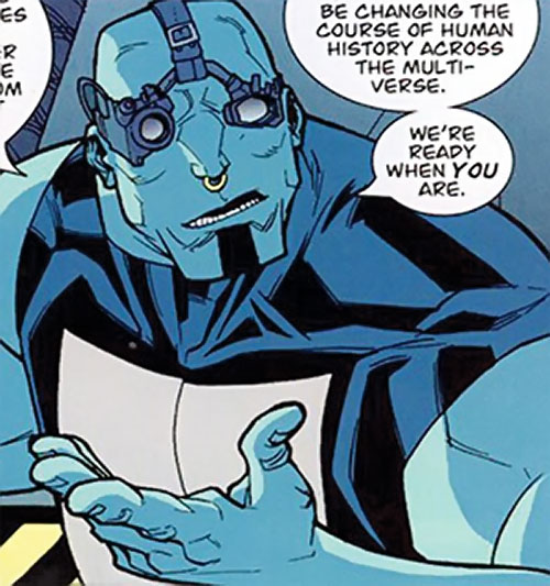 Mauler Twins (Invincible enemy) (Image Comics) with techno goggles