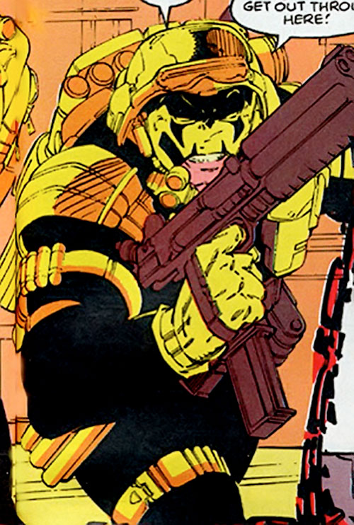 Maverick (Christopher North) (Marvel Comics) as a Team X member