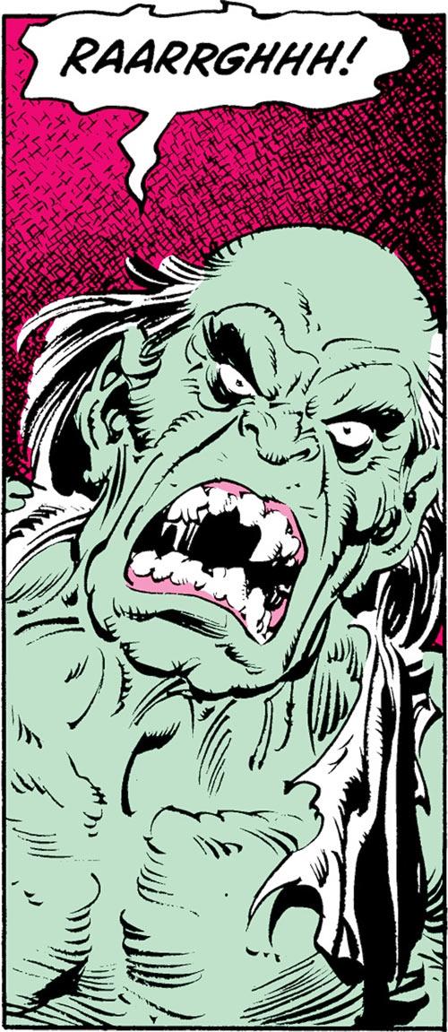 Max Hammer Stryker (Hulk enemy) (Marvel Comics) gamma mutate yell