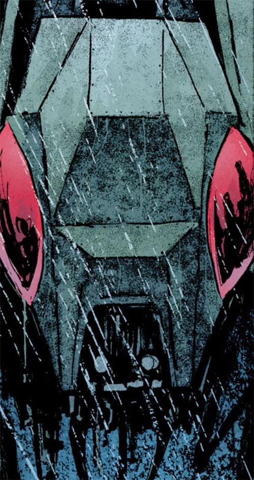 Mechagorgon (Iron Fist enemy) (Marvel Comics) head closeup