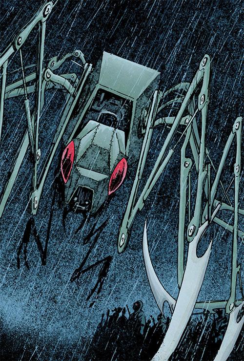 Mechagorgon (Iron Fist enemy) (Marvel Comics)