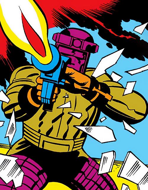 Mecho-Assassin (Captain America enemy) (Marvel Comics)