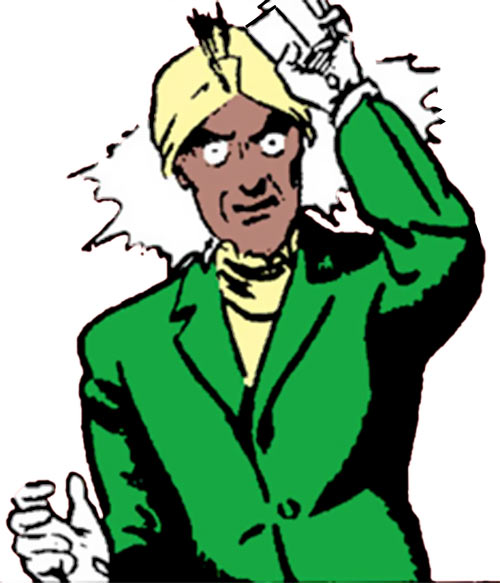 Medini the Hypnotist (Superman enemy) (DC Comics) using his power
