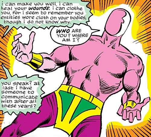 Megaman (Nova enemy) (Marvel Comics)