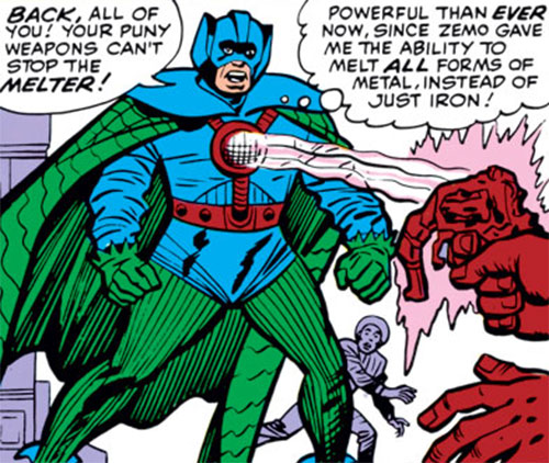 Melter (Marvel Comics) (Bruno Horgan) (1964 costume)