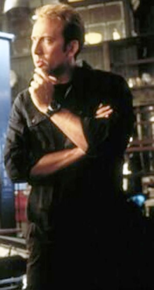 Memphis Raines (Nicolas Cage in Gone In 60 Seconds) pondering