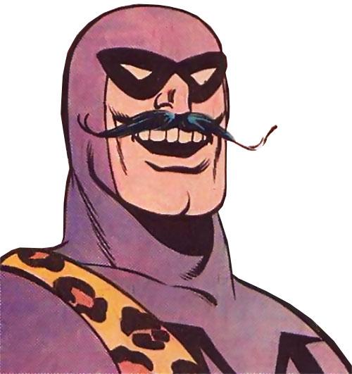 Menagerie Man portrait, with moustache