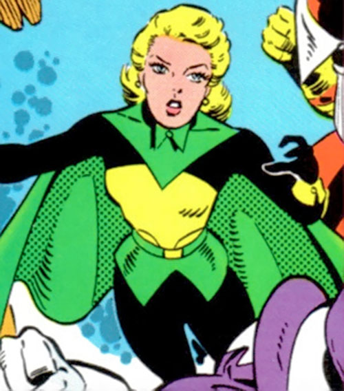 Mentalla of the Legion of Super-Heroes and Fatal Five (DC Comics) and Polar Boy