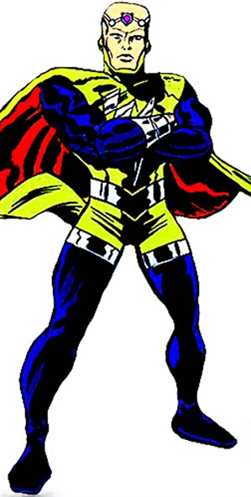 Mentor of the Freedom Force in his yellow costume