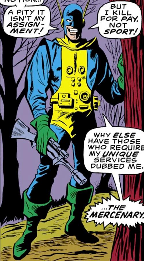 The Mercenary (Iron Man enemy) (Marvel Comics)