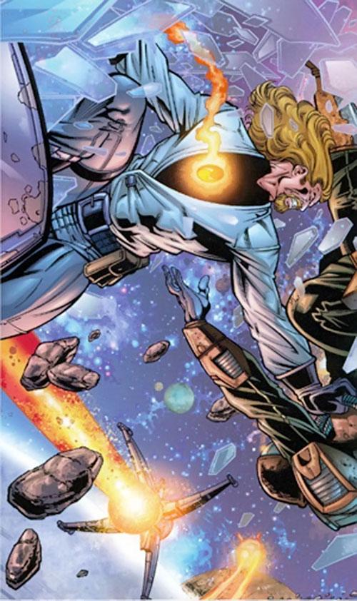 Drake Mercer (Negation Crossgen comics) spaced