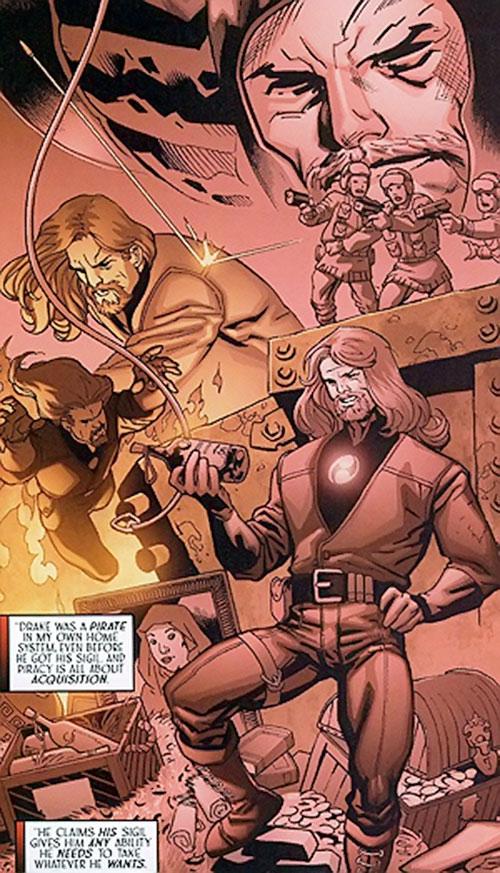 Drake Mercer (Negation Crossgen comics) flashback montage