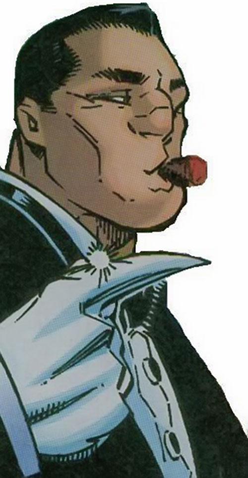 Mercury of Cerebro's X-Men (Marvel Comics) face closeup