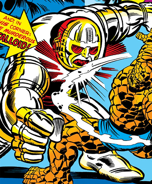 The Metalloid (Marvel Comics) vs. the Thing