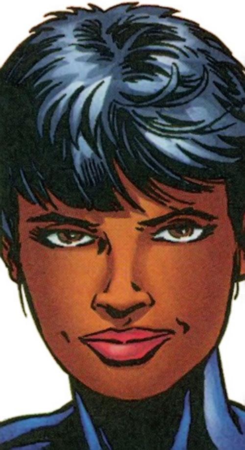 Meteorite of the Redeemers (Barnhardt) (Marvel Comics) face closeup