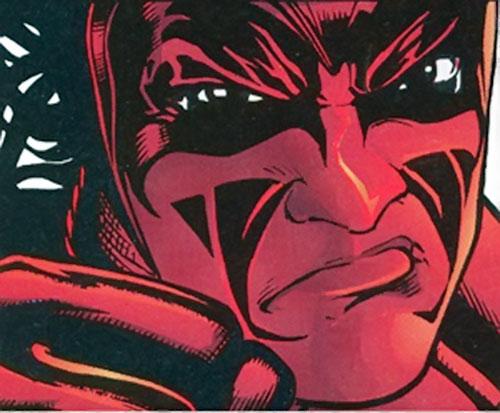 Midnight Devil (Strikeback comics) face closeup