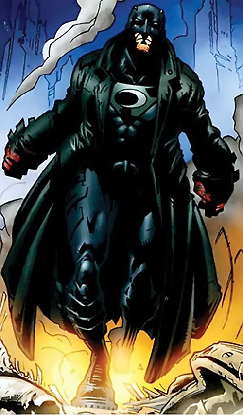 Midnighter of the Authority (Wildstorm Comics) with blood-covered fists