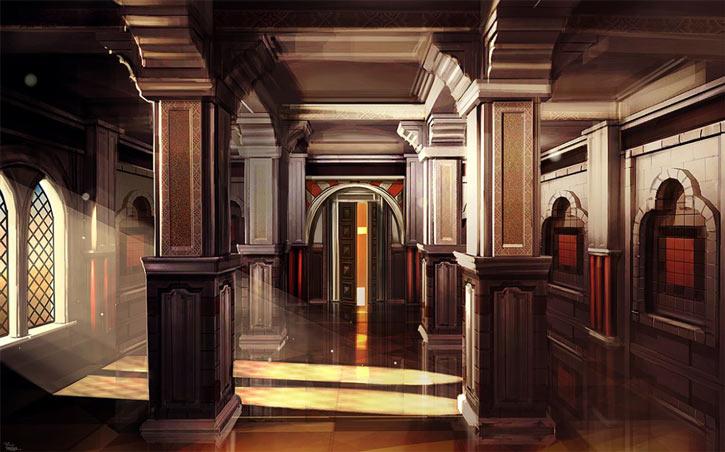 Might & Magic X: Legacy - palace interior