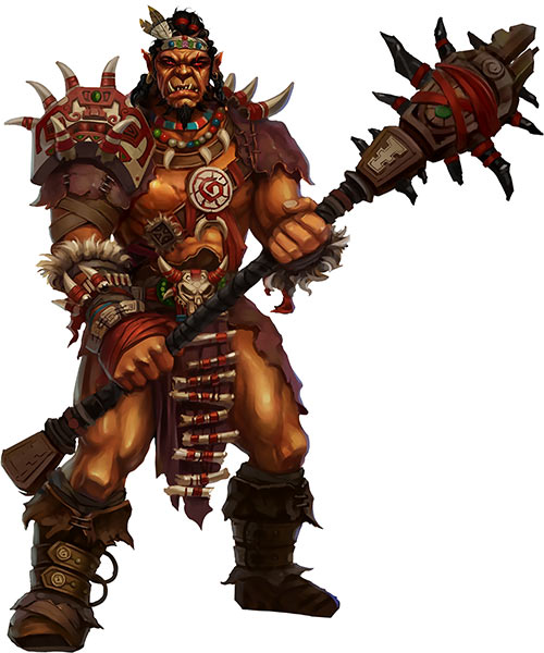 Might and Magic X Legacy game concept art - Orc warrior