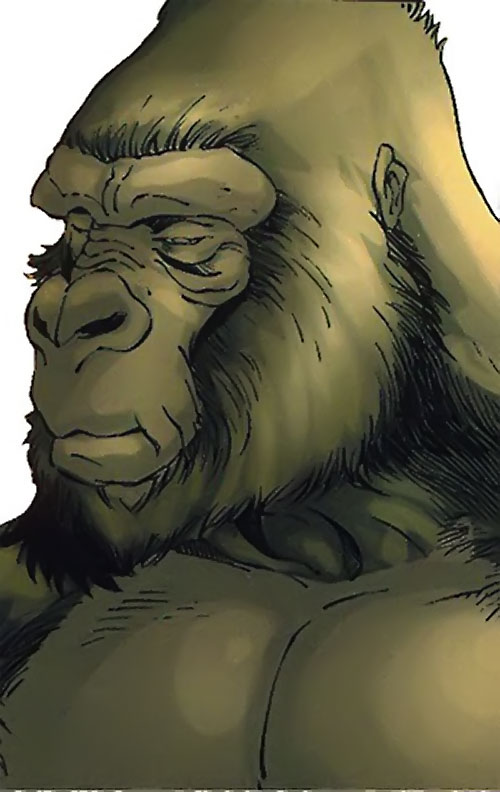 Mikhlo the gorilla (Super-Apes of the Red Ghost) (Marvel Comics)