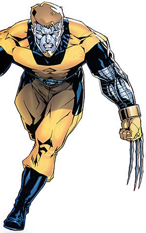 Mimic of the Exiles (Marvel Comics) with Wolverine and Colossus' powers active