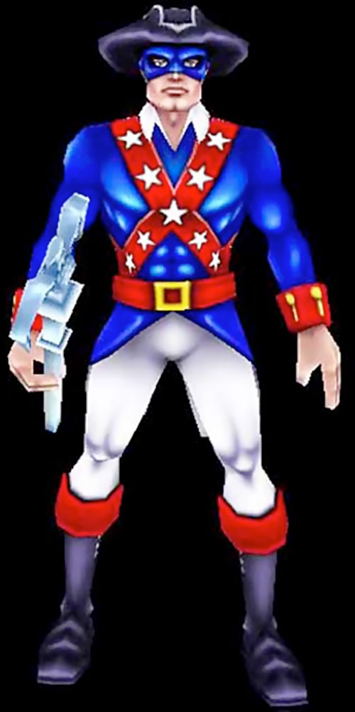 Minuteman (Freedom Force) character model