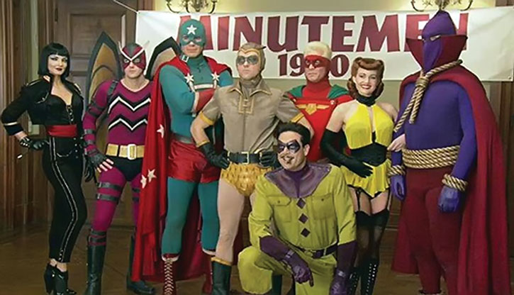 The Minutemen group photo from the movie