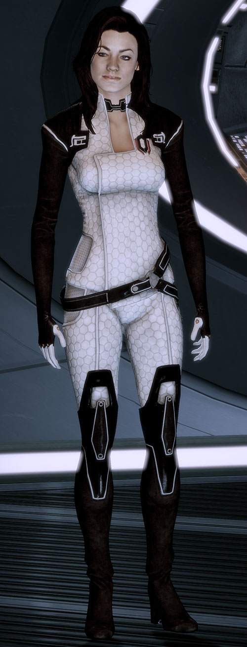 Miranda Lawson (Mass Effect) smug