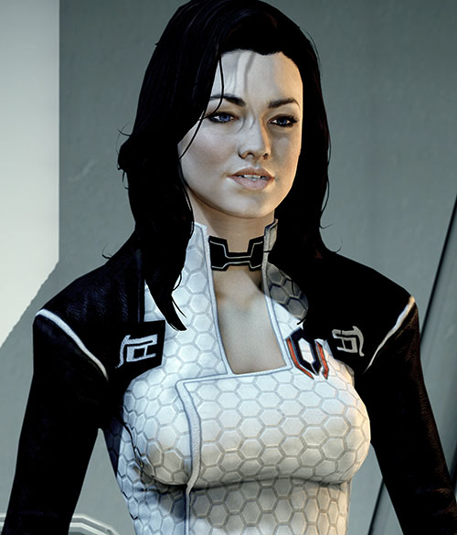 Miranda Lawson (Mass Effect) high resolution portrait