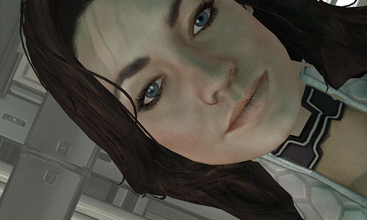 Miranda Lawson's first appearance
