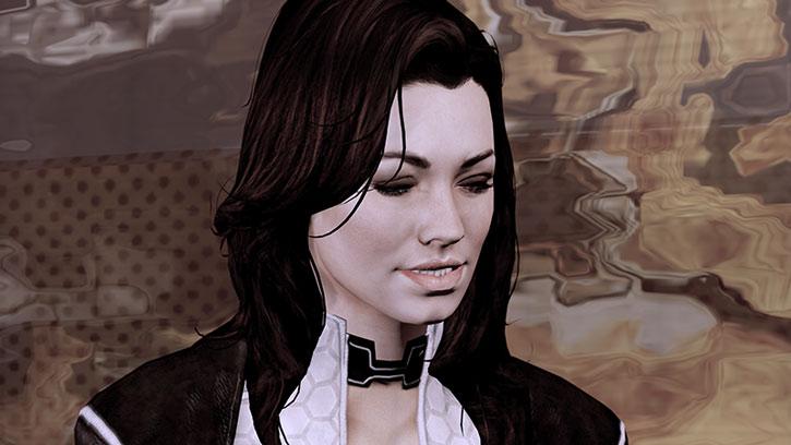 Miranda Lawson face closeup