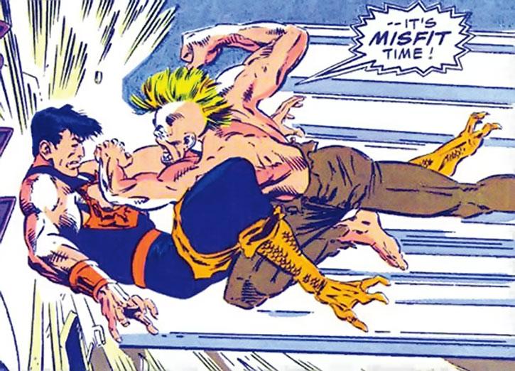 Misfit vs. Wonder Man