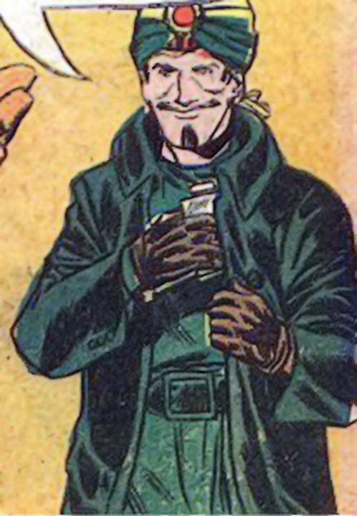 Mister Blaze (Peacemaker enemy) (Charlton Comics)