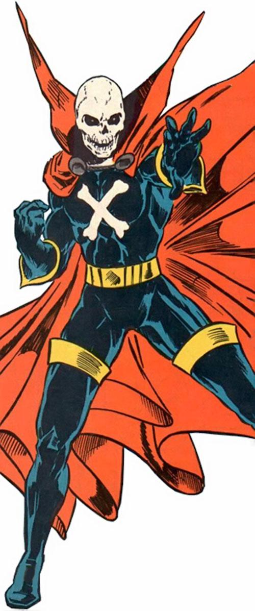 Mister Bones of Helix and Infinity, Inc. (DC Comics)