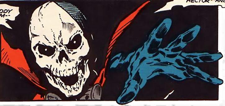 Mister Bones face closeup