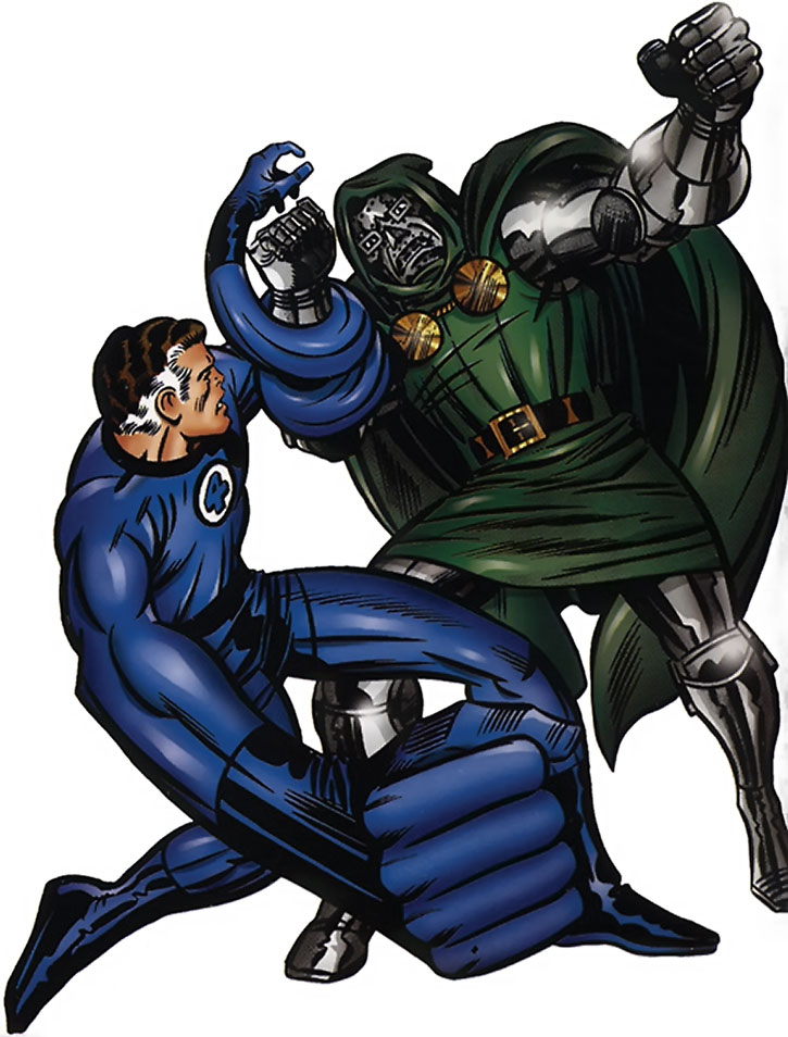Mister Fantastic vs. Doctor Doom