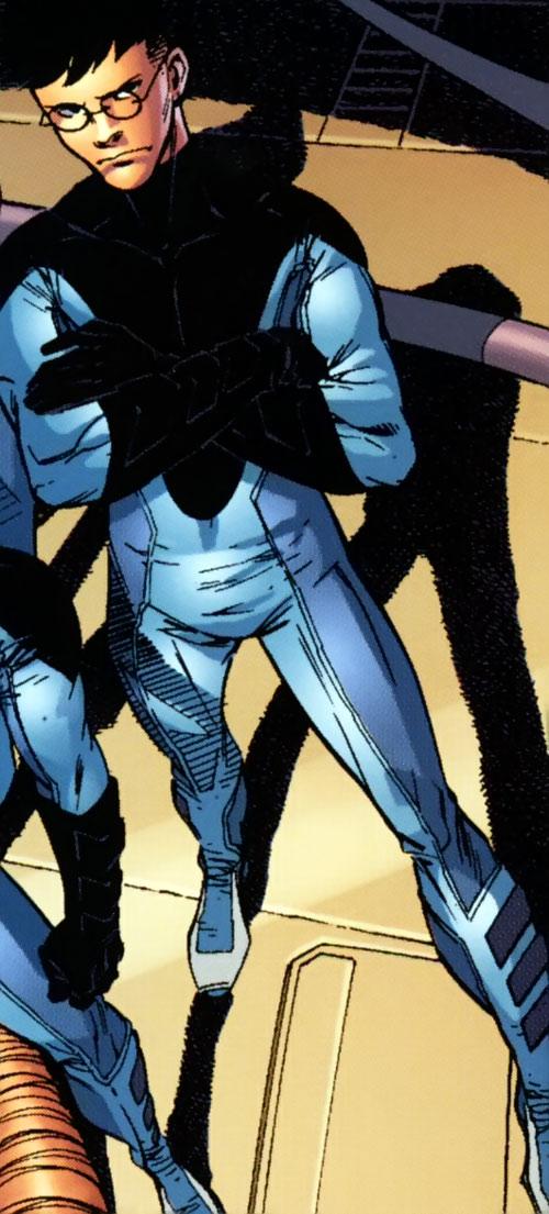 Ultimate Mister Fantastic (Ultimate Marvel Comics) high angle shot