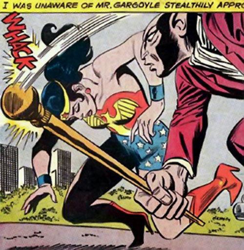 Mister Gargoyle vs. Wonder Woman (DC Comics)