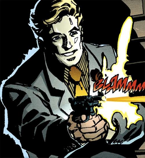 Model Army enforcer (Catwoman enemy) (DC Comics)