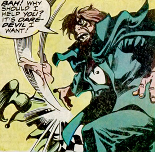 Mister Hyde (Marvel Comics) dismisses the Jester