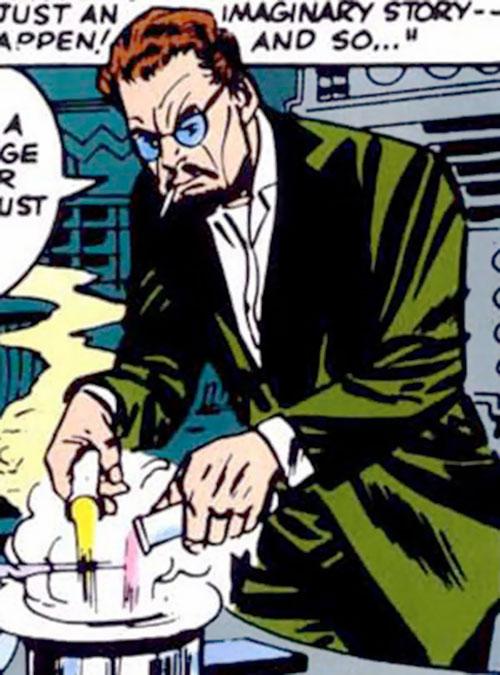 Calvin Zabo aka Mister Hyde (Marvel Comics) doing chemistry