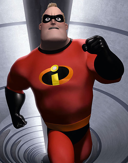 Mister Incredible (Pixar's The Incredibles) running