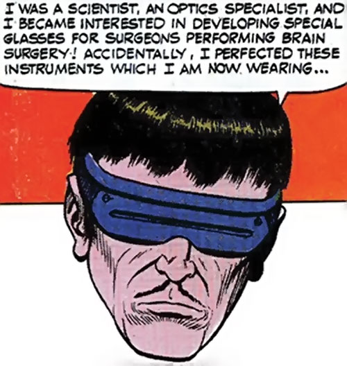 Mister Ize (Sarge Steel enemy) (Secret Agent Charlton comics)