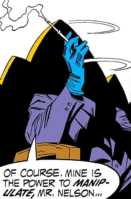 Mister Kline the Assassin (Marvel Comics) in the shadows