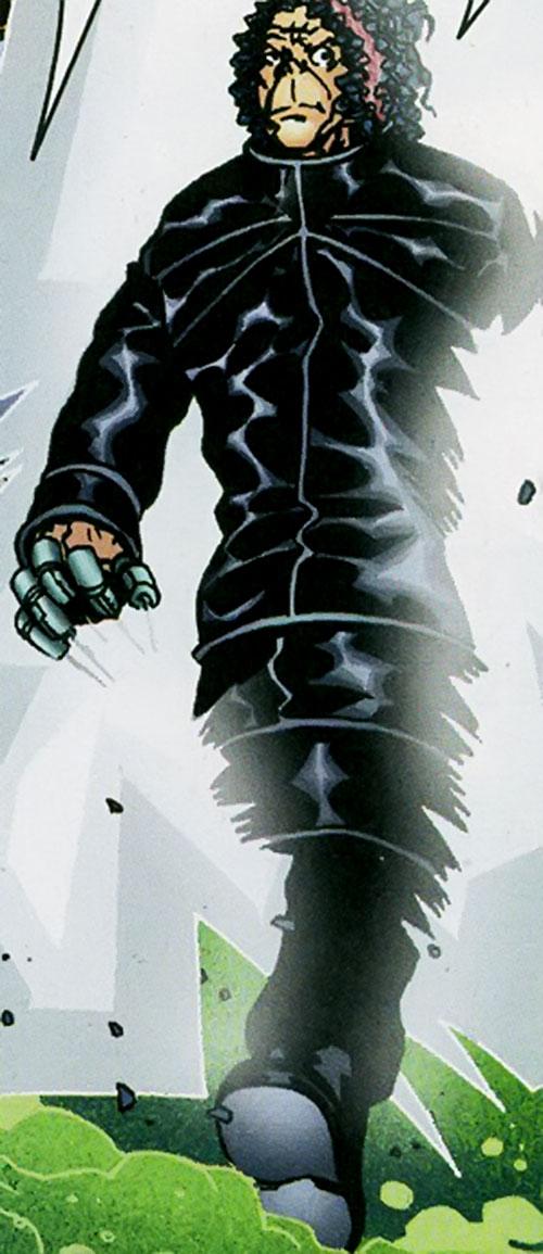 Mister Pharmacist of the Establishment (Wildstorm Comics) steps through a gate