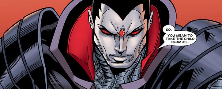 Mister Sinister face closeup